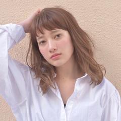 デート ニュアンス 大人かわいい 外国人風 ヘアスタイルや髪型の写真・画像