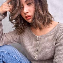 ハイライト 女子力 透明感 ストリート ヘアスタイルや髪型の写真・画像