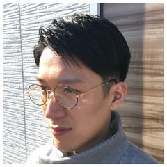 外国人風 黒髪 ストリート メンズ ヘアスタイルや髪型の写真・画像