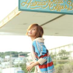ショート ストリート 外国人風 かっこいい ヘアスタイルや髪型の写真・画像