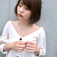 フェミニン ヘアアレンジ デート エフォートレス ヘアスタイルや髪型の写真・画像