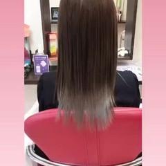 韓国ヘア ナチュラル エクステ ロング ヘアスタイルや髪型の写真・画像