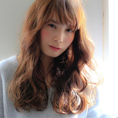 モテ髪 パーマ 外国人風 ロング ヘアスタイルや髪型の写真・画像