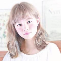 ハイトーン 外国人風カラー ストリート 外国人風 ヘアスタイルや髪型の写真・画像