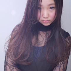 外国人風カラー パーティ ロング グラデーションカラー ヘアスタイルや髪型の写真・画像
