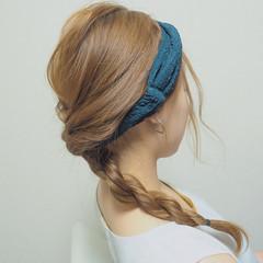 夏 ナチュラル ロング ショート ヘアスタイルや髪型の写真・画像