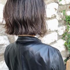 ボブ 外ハネ モード 透明感 ヘアスタイルや髪型の写真・画像