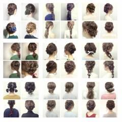 春 アップスタイル ヘアアレンジ ストリート ヘアスタイルや髪型の写真・画像