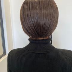 透明感 ショートヘア ナチュラル ショート ヘアスタイルや髪型の写真・画像