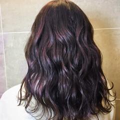 ブリーチ エレガント 上品 ラベンダーピンク ヘアスタイルや髪型の写真・画像