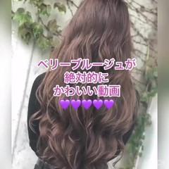 ウェーブ デート 女子力 簡単ヘアアレンジ ヘアスタイルや髪型の写真・画像