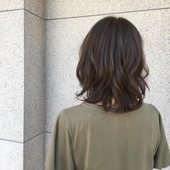 こなれ感 ロブ かっこいい ナチュラル ヘアスタイルや髪型の写真・画像