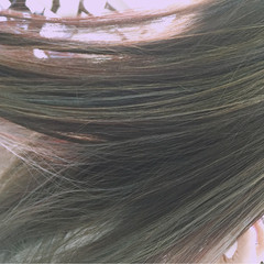 外国人風 ロング ハイライト ストリート ヘアスタイルや髪型の写真・画像