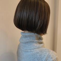 モテボブ ボブ ナチュラル 小顔ヘア ヘアスタイルや髪型の写真・画像