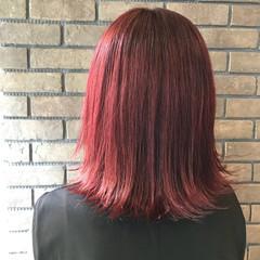 ストリート ミディアム フェミニン エフォートレス ヘアスタイルや髪型の写真・画像