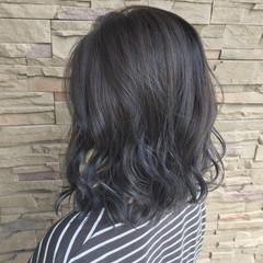 外国人風 グラデーションカラー コンサバ グレージュ ヘアスタイルや髪型の写真・画像