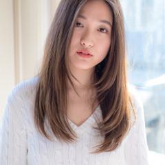 大人女子 セミロング 大人カジュアル デート ヘアスタイルや髪型の写真・画像