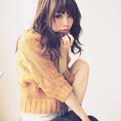 大人かわいい ゆるふわ フェミニン レイヤーカット ヘアスタイルや髪型の写真・画像
