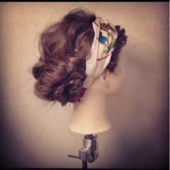 ショート ヘアアクセ ナチュラル 大人かわいい ヘアスタイルや髪型の写真・画像