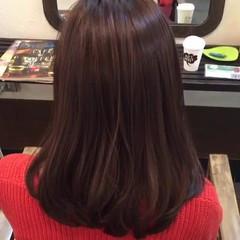 アッシュ ミルクティー 外国人風カラー グレージュ ヘアスタイルや髪型の写真・画像
