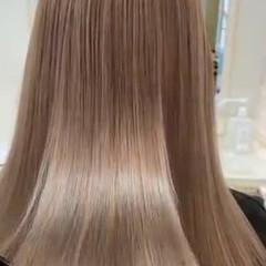 ロング 髪質改善 ナチュラル ダブルカラー ヘアスタイルや髪型の写真・画像