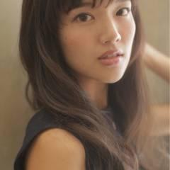 ロング ゆるふわ フェミニン ガーリー ヘアスタイルや髪型の写真・画像