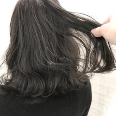 ミディアム 秋 ナチュラル 冬 ヘアスタイルや髪型の写真・画像
