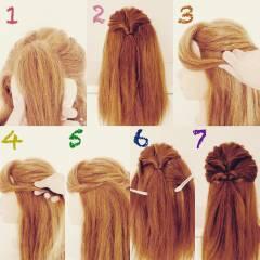 前髪あり ヘアアレンジ ショート 簡単ヘアアレンジ ヘアスタイルや髪型の写真・画像