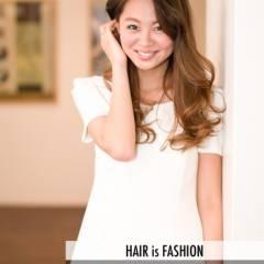 モテ髪 愛され ロング グラデーションカラー ヘアスタイルや髪型の写真・画像