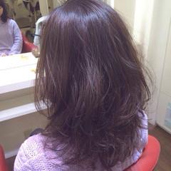 イルミナカラー グレージュ アッシュ 透明感 ヘアスタイルや髪型の写真・画像