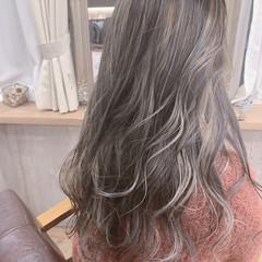 3Dハイライト ナチュラル 大人可愛い ミディアム ヘアスタイルや髪型の写真・画像