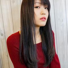 女子力 エフォートレス 透明感 ロング ヘアスタイルや髪型の写真・画像
