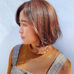 ショートボブ ショートヘア ボブ ミニボブ ヘアスタイルや髪型の写真・画像