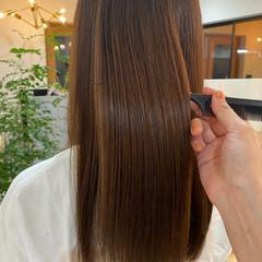 ヘアケア 透明感カラー 髪質改善トリートメント 最新トリートメント ヘアスタイルや髪型の写真・画像
