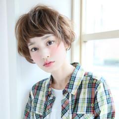 ショート 簡単 外国人風 ストリート ヘアスタイルや髪型の写真・画像