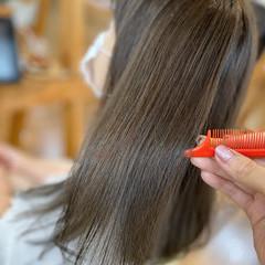 艶髪 トリートメント 髪質改善トリートメント ナチュラル ヘアスタイルや髪型の写真・画像