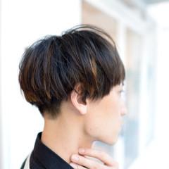 メンズ モード ハイライト レイヤーカット ヘアスタイルや髪型の写真・画像