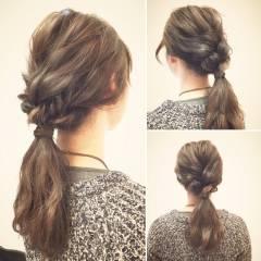 ヘアアレンジ ゆるふわ 二次会 フェミニン ヘアスタイルや髪型の写真・画像