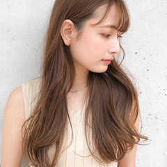 セミロング 大人女子 大人かわいい 大人可愛い ヘアスタイルや髪型の写真・画像