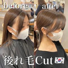 ヨシンモリ 韓国ヘア エレガント オルチャン ヘアスタイルや髪型の写真・画像