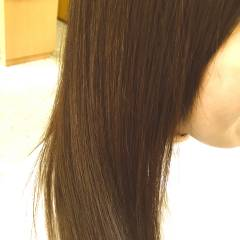 ストレート ロング フェミニン モテ髪 ヘアスタイルや髪型の写真・画像