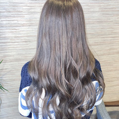 透明感カラー 艶カラー イルミナカラー 透明感 ヘアスタイルや髪型の写真・画像