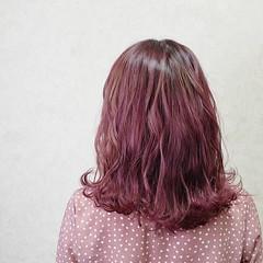 アンニュイほつれヘア ミディアム デートヘア 切りっぱなしボブ ヘアスタイルや髪型の写真・画像
