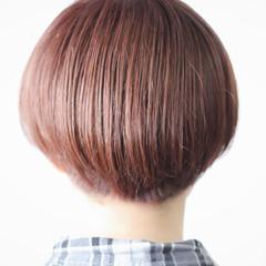 マッシュヘア マッシュ マッシュショート モテボブ ヘアスタイルや髪型の写真・画像