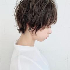 ショートボブ ショートヘア ナチュラル ショート ヘアスタイルや髪型の写真・画像
