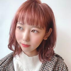 デート ナチュラル可愛い 透明感カラー 大人可愛い ヘアスタイルや髪型の写真・画像