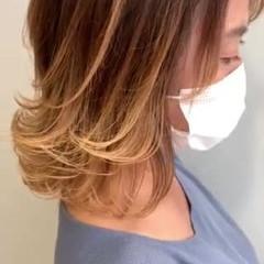 ヌーディベージュ ミルクティーベージュ ブラウンベージュ ベージュ ヘアスタイルや髪型の写真・画像