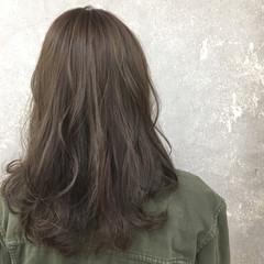 外国人風 抜け感 セミロング ストリート ヘアスタイルや髪型の写真・画像
