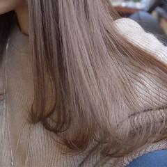 夏 ベージュ 上品 ハイライト ヘアスタイルや髪型の写真・画像