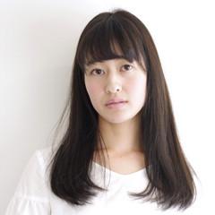 グレージュ 外国人風 ロング イルミナカラー ヘアスタイルや髪型の写真・画像